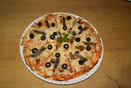 pizza marinera