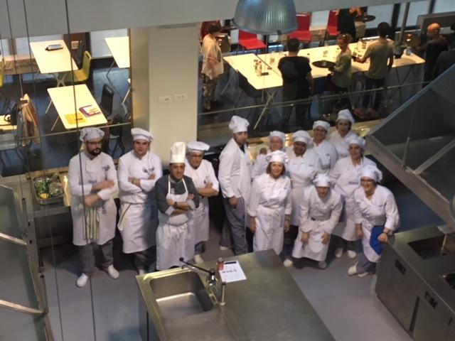 Escuela Internacional De Cocina Valladolid | Los Alumnos Del Curso Cocina Visitan La Escuela Internacional De